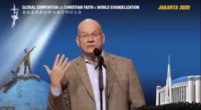 普世基督教信仰与福音研讨大会  提姆·凯乐分享:为什么神要用耶稣的血来平息祂的愤怒?